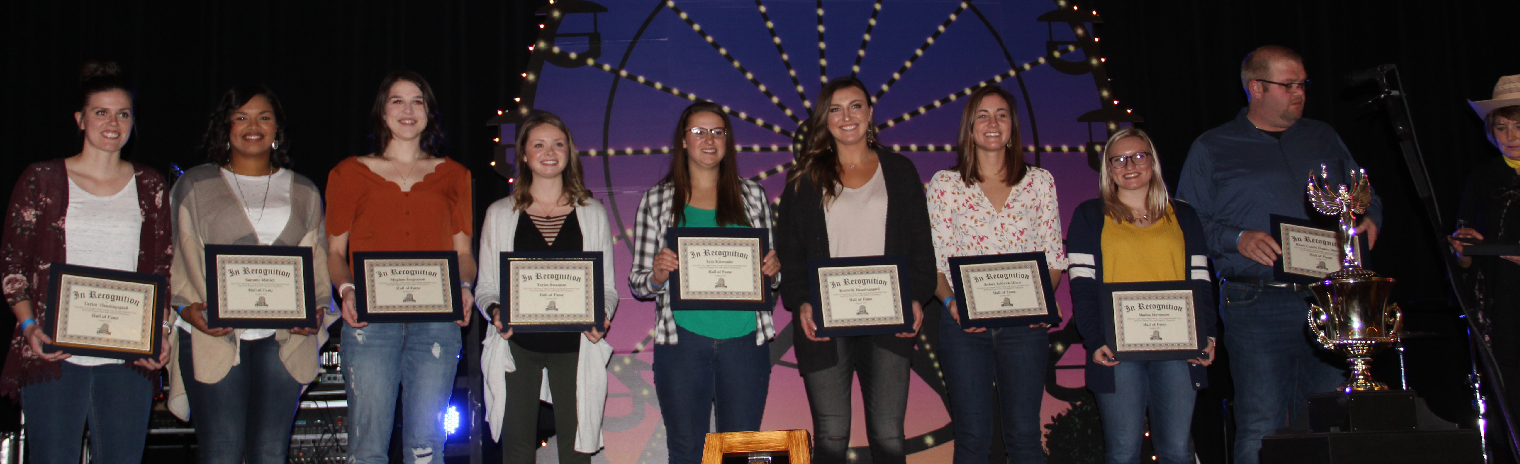 Lady Royals team inducted into Hall of Fame